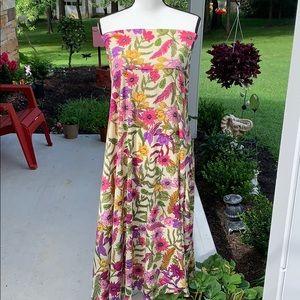 2XL LuLaRoe Floral Maxi Skirt
